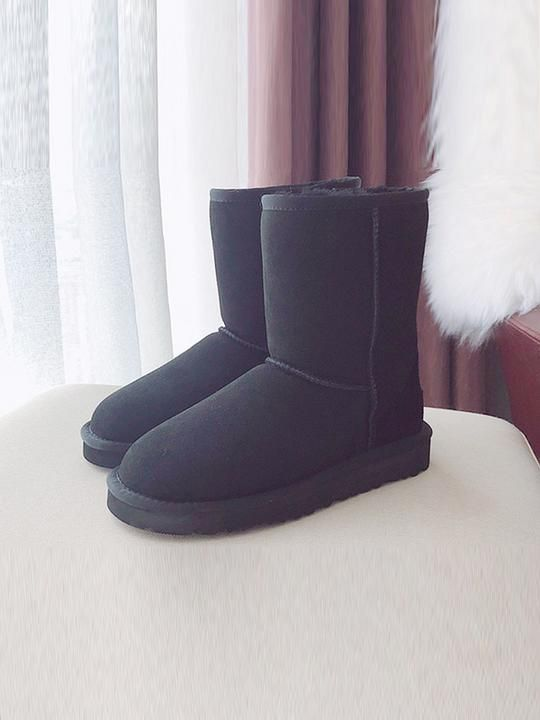 c731b0129f5 New Sheep Fur One Plus Velvet Tube Cotton Shoes | UGG Style Shoes