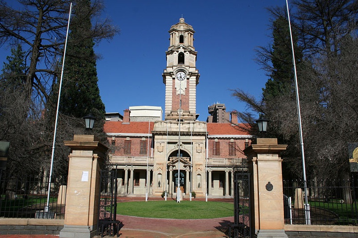 National Museum of Afrikaans Literature in Bloemfontein.