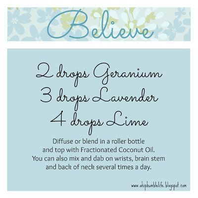 Believe Blend ~ http://www.sparknaturals.com/?affiliates=110;  Use coupon code REVIVE for an additional 10% off purchase at checkout.