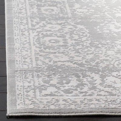 Gray Beige Floral Loomed Area Rug 5 1 Quot X7 6 Quot Safavieh