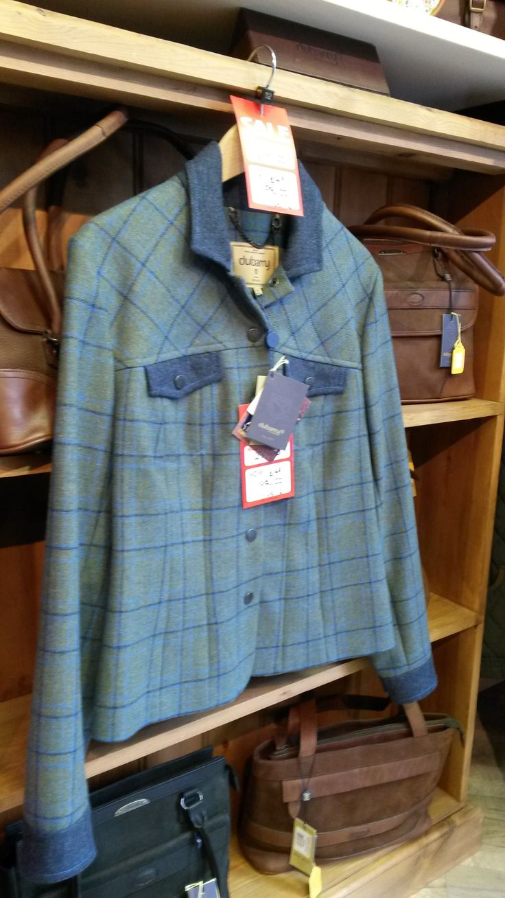 What about this stunning ladies tweed jacket from Dubarry?  It's reduced in the Luck of Louth summer 2014 sale.