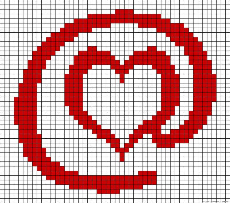 @heart perler bead pattern http://mistertrufa.net/librecreacion/culturarte/?p=12