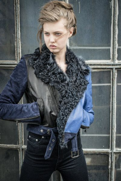 BLK DNM Custom Leather Jacket