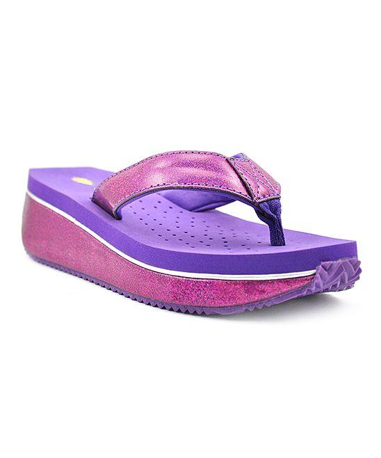 Purple Torte Flip-Flop