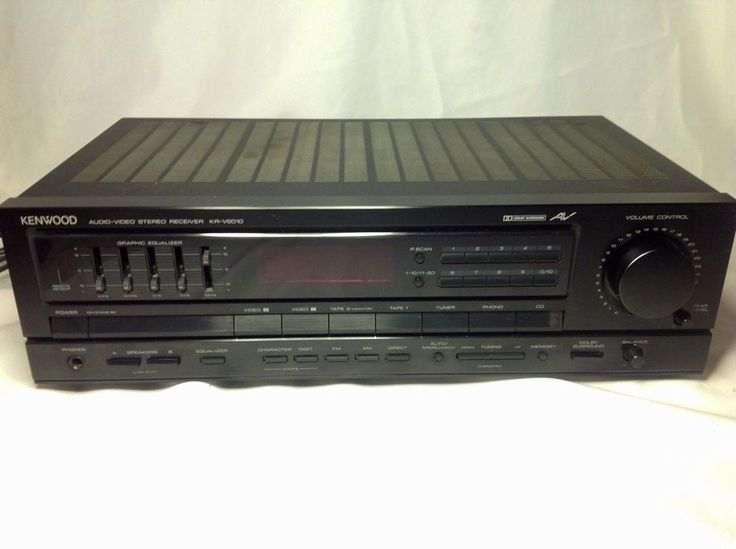 KENWOOD AUDIO VIDEO STEREO RECEIVER KR-V6010  NICE CONDITION #Kenwood