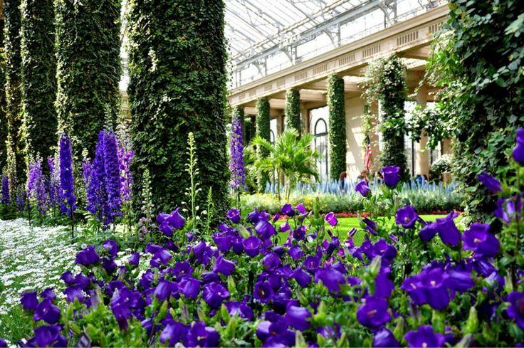Сад Дюпона .Ботанические сады Америки.