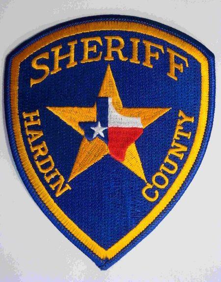 Hardin county Sheriff TX