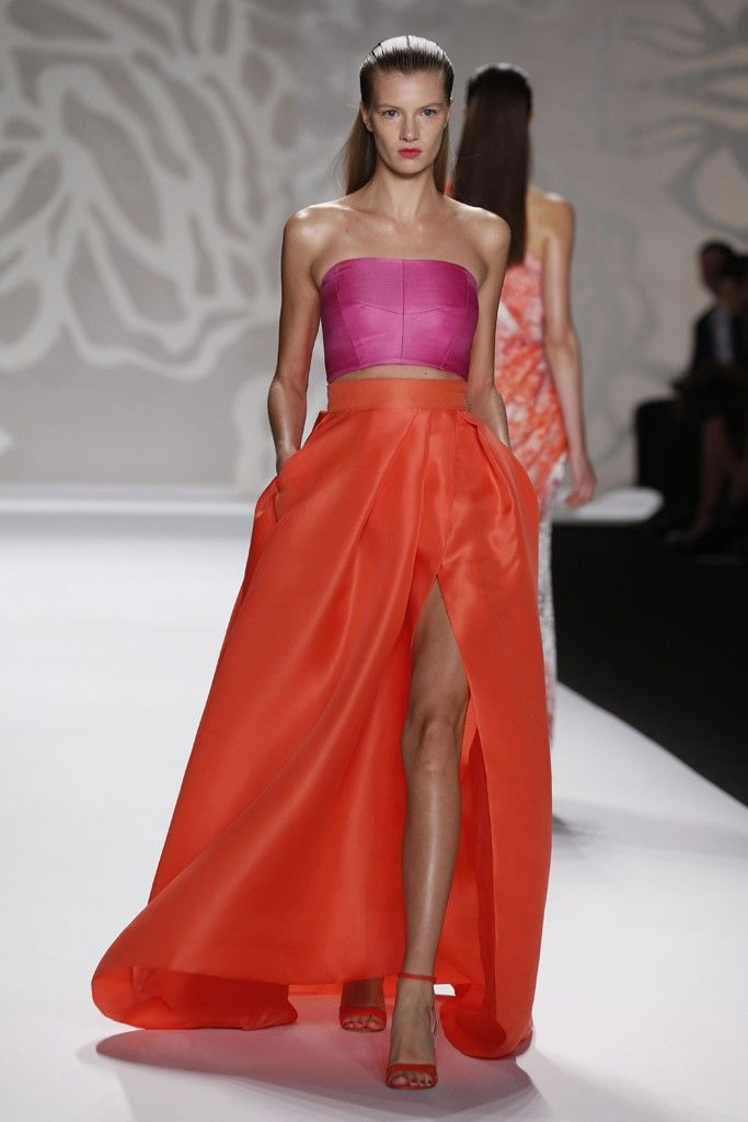 Monique Lhuillier RTW Spring 2014, #23 / I know we've discussed this before, but I absolutely LOVE this color combination.