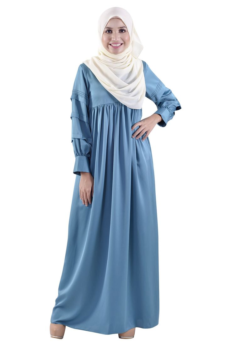 Dancing in Pleats Jubah-Jubah & Abaya