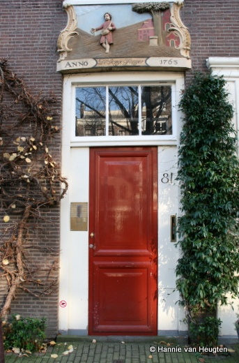 Amsterdam, Jordaan, by Hannie van Heugten, via Flickr