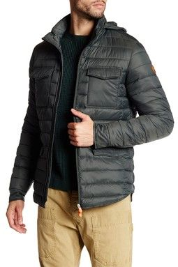 Quilted Stand-Up Jacket