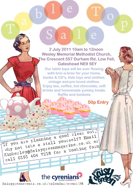 Pre-loved Table Top Sale | Daisy Events | Pinterest | Top sales