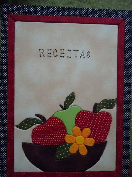 Caderno de receitas | Nynarte | 248FC0 - Elo7