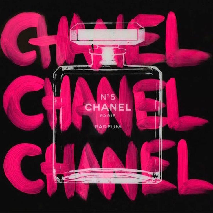 Chanel Chanel Chanel Black (RESIN)