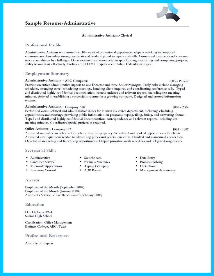 Más De 20 Ideas Increíbles Sobre Perfil Asistente Administrativo   Surgical  Technician Resume  Surgical Technician Resume