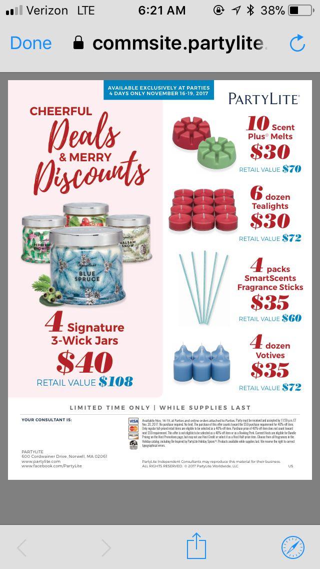 Biggest sale of year !  Partylite.biz/candleladydana  #Doublebundles 813-541-1590 to order