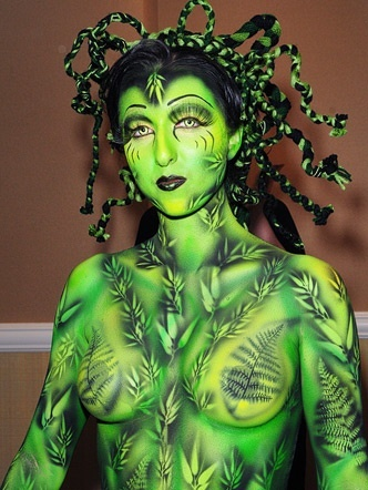 body painting videos