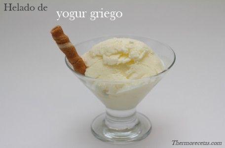 Helado de yogur griego (Thermomix)