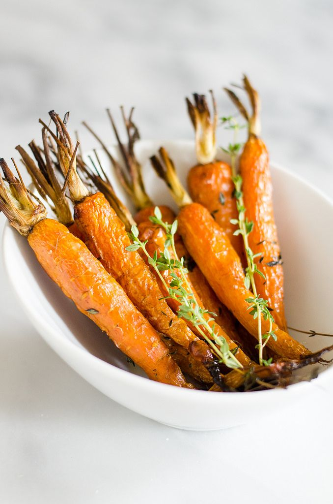 Herb Roasted Carrots - Erica