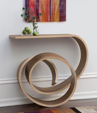 Kino Guerin, an exhibitor at the IDS  His designs have drawn inspiration from Thonets work. Following the same flow and curves as the Michael Thonet chairs.