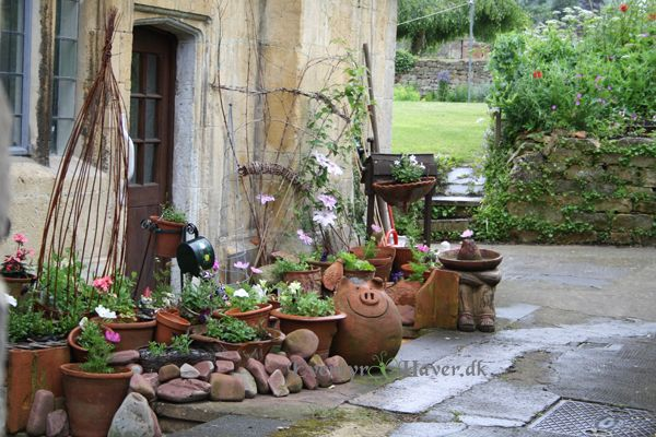 Pictures from gardens in Chipping Campden, Gloustershire, England