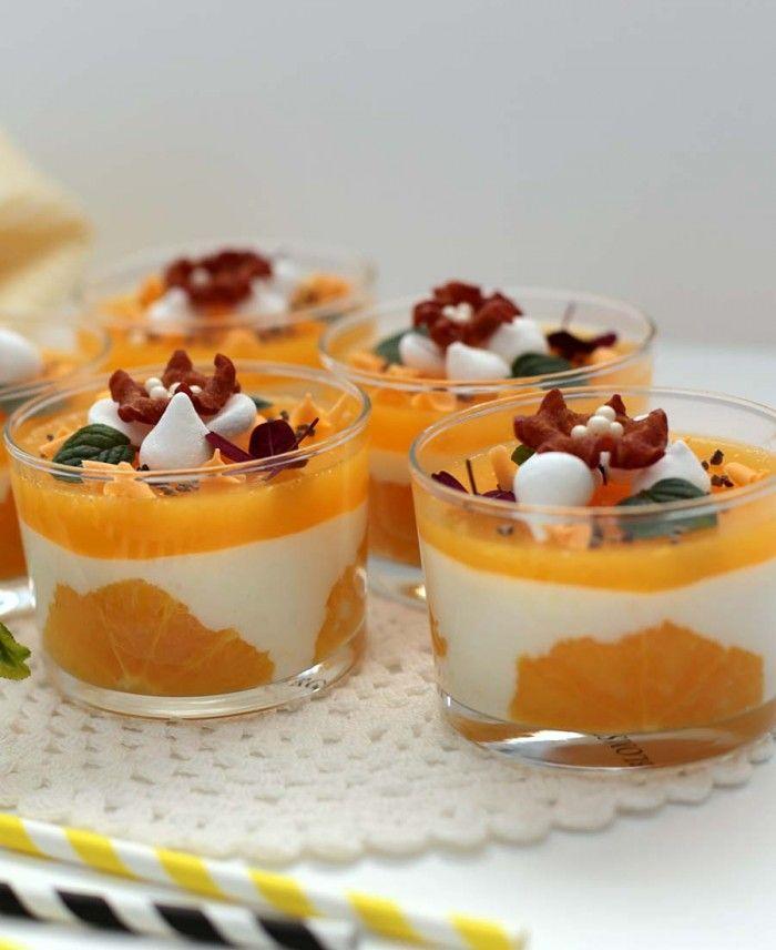 Kalorielet sommerdessert med hvid chokolademousse og appelsin glace, www.bydianawi.com