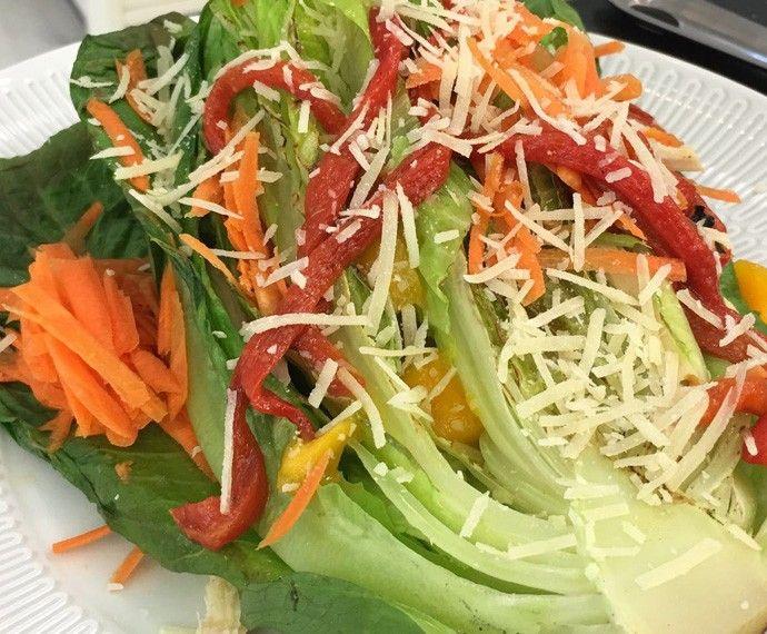 Molho para Salada no Alface