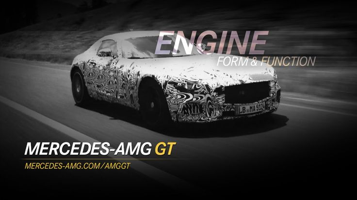 The Mercedes-AMG GT: Form & Function - Engine #video #amg