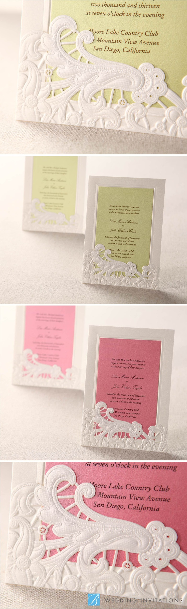 23 Best Wedding Invitations Images On Pinterest Wedding Stationery