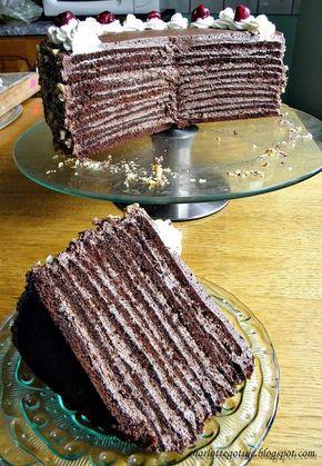 Nie za słodki , czekoladowy i jak najbardziej jeden z tych godnych polecenia. Miałam trudny wybór, zastanawiałam się nad kilkoma rodzajami ...