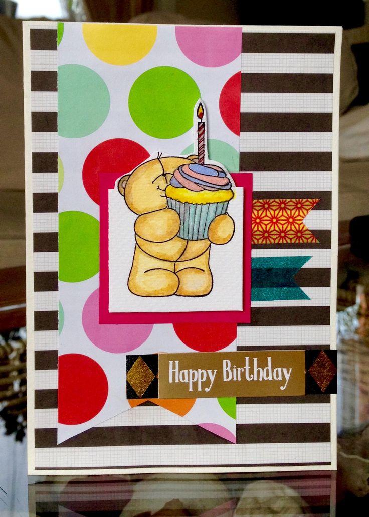 Scrapbook Birthday Card