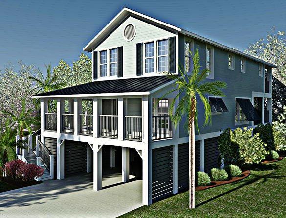 41 best coastal house plans images on pinterest | coastal homes