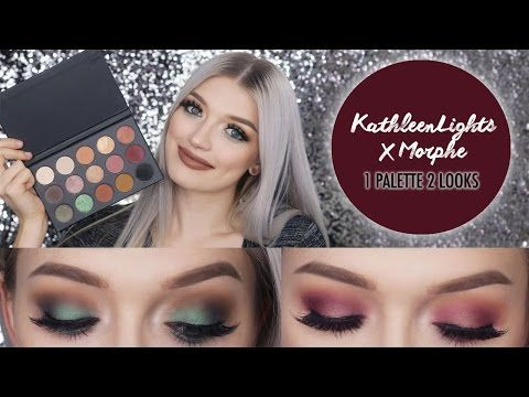 KathleenLights X Morphe Palette | Review & Tutorial (2 Looks)  By Princess Stanley