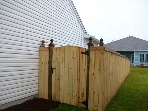 wooden fence gates designs handyman portfolio wood fence