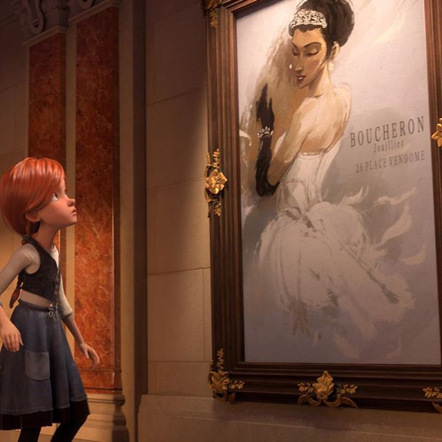 Boucheron is proud to play a role in 'Ballerina', the new French animation movie, featuring a 3D reconstitution of the 'Ombelles' tiara initially created in 1904 by Boucheron. The tiara on the poster represents the fulfillment of lead character Félicie's dream of becoming prima ballerina at the Paris Opera. Release date on December 14th in France, December 23rd in the UK, and 2017 internationally.  #Boucheron #BallerinaLeFilm