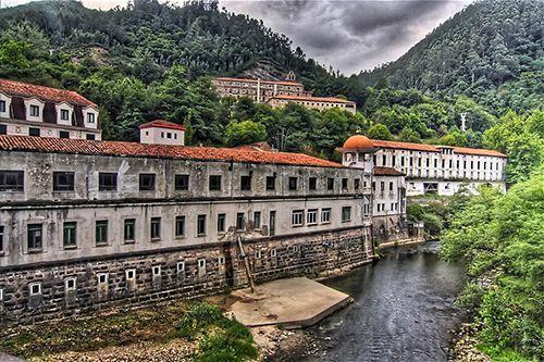 Balneario de las Caldas del Besaya. Cantabria. Spain.