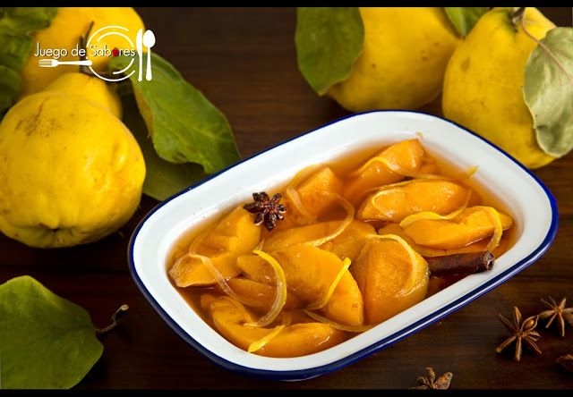 QUINCE PRESERVED WITH SPICES