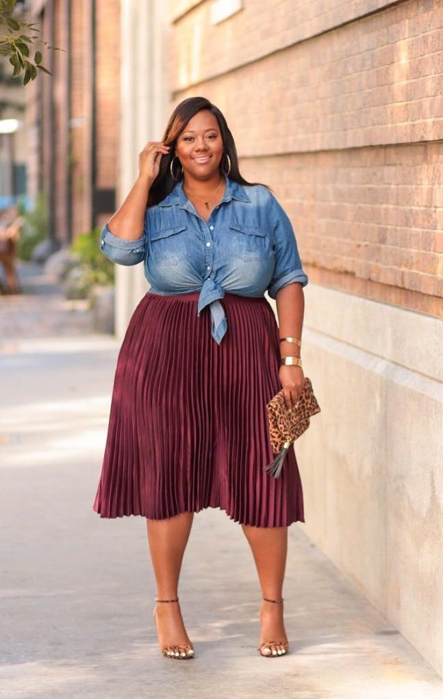 Plus Size Fashion for Women #plussize | Full figured women