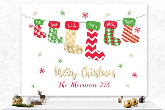 Christmas Card  Custom Holiday Cards  Custom by IspiratoPrintables