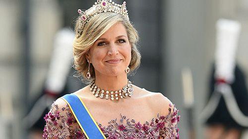Koningin Maxima woonde het huwelijk bij van de Zweedse prins Carl Philip en Sofia Hellqvist (30)