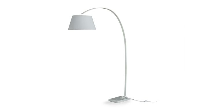 Willo White Floor Lamp - Lighting - Article   Modern, Mid-Century and Scandinavian Furniture