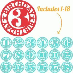 Silhouette Design Store: 18 lori whitlock birthday age labels