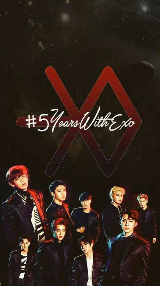 EXO Wallpaper #EXO #5YearsWithEXO | EXO Wallpaper ...