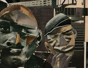 Pittsburgh Memory by Romare Bearden.