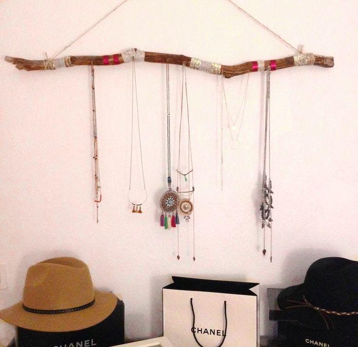 Nouvel article sur le blog fabriquer un porte bijoux - Fabriquer porte bijoux facile ...