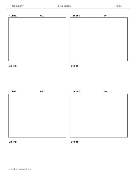 12 Best Storyboard Templates Images On Pinterest | Storyboard