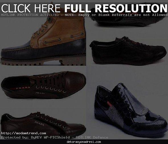 cool Prada erkek ayakkabı modelleri