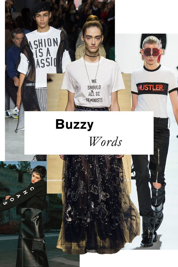 The 11 top trends of Spring 2017: Buzzy Words