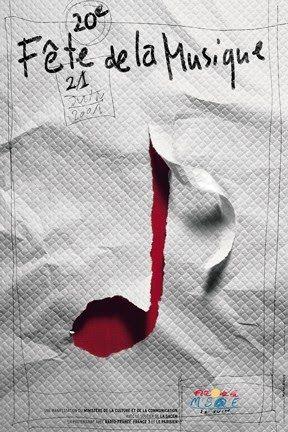 Michal Batory / poster / fête de la musique / Design