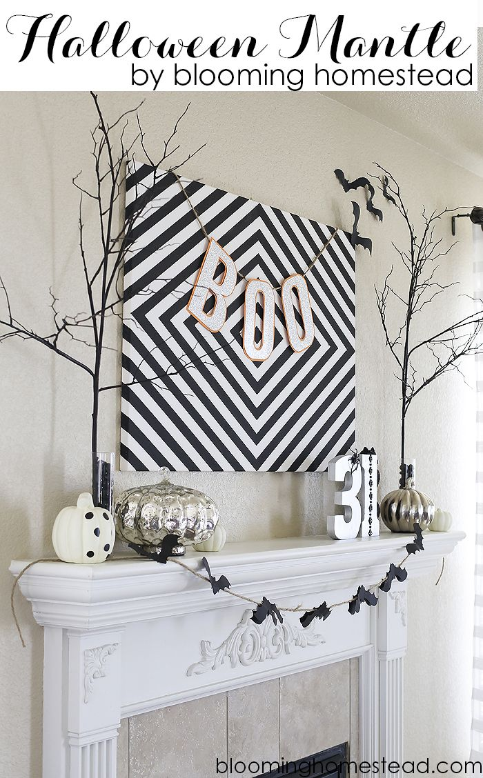 205 best Halloween Style images on Pinterest Halloween prop - black and white halloween decorations